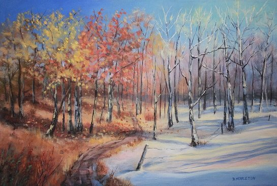 "Dianne Middleton, ""Fall to Winter,"" nd"