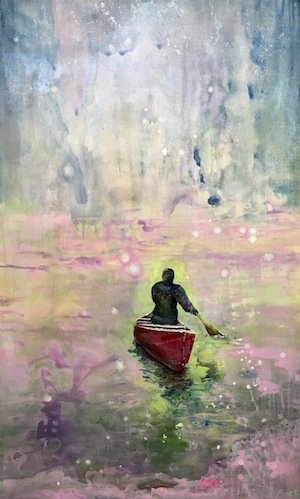 "Lori Goldberg,""MAKING LOVE IN A CANOE"""