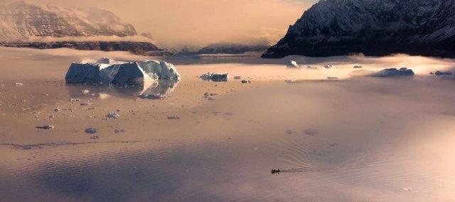 "Scott Forsyth, ""Mystic morning on Karrat Fjord,"" nd"