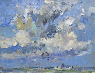 "Clint Hunker, ""Summer Clouds Scatter,"" 2016"