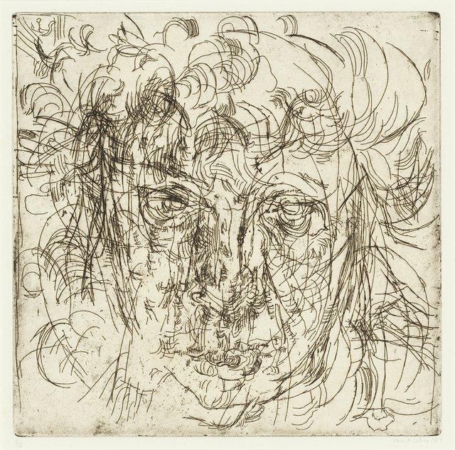 """Ann Kipling, """"Head,"""" 1967"""