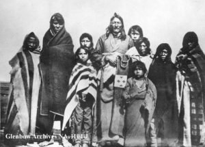"R.G. Brook, ""Chief Crowfoot and Family (1884)"""