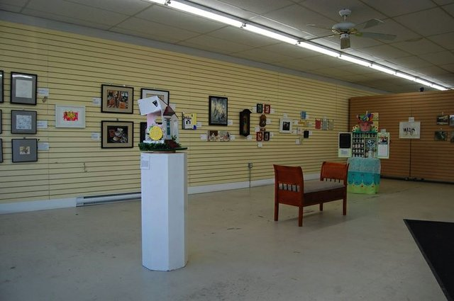 """""""What's for Supper"""" installation view at NorVa"""