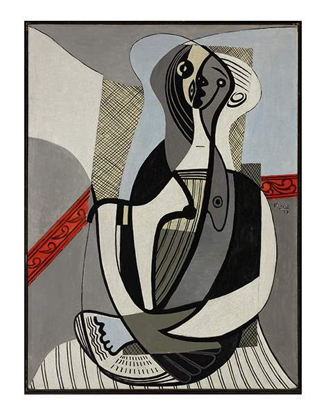 "Pablo Picasso (Spanish, 1881-1973), ""Femme assise,"" 1927"