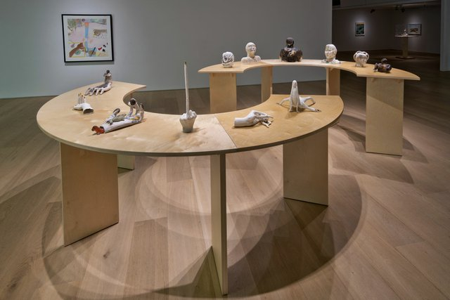 """""""Earthlings,"""" installation view. Photo by John Dean."""