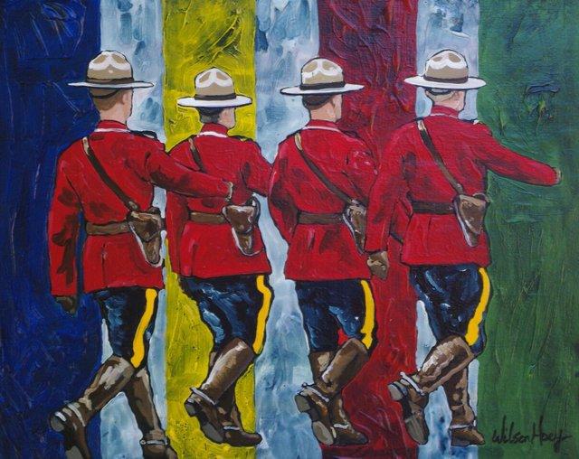 "Tim Hoey, ""RCMP,"" 2017"