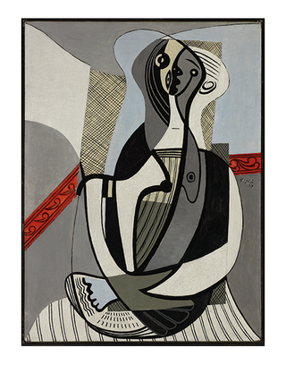 "Pablo Picasso (Spanish, 1881-1973) , ""Femme assise,"" 1927"