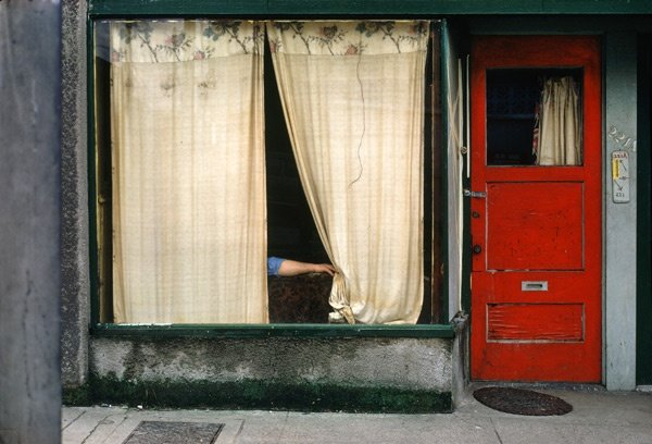 "Fred Herzog, ""Curtains,"" 1972/2011"