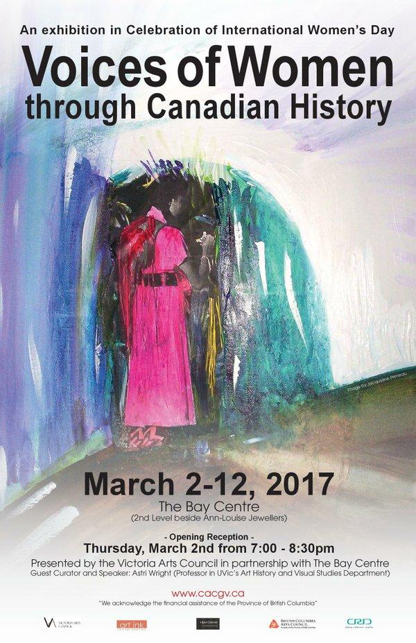 """Jacqueline Primeau, """"Voices of Women invite"""""""