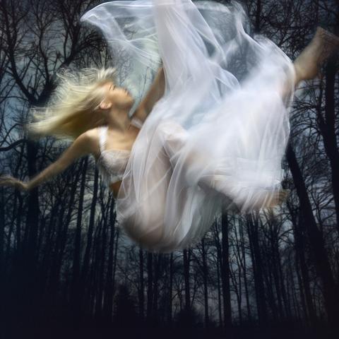 "Barbara Cole, ""Falling Through Time,"" nd"