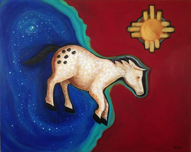 "Tracy Burton, ""First Horse,"" nd"