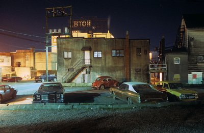 "Greg Girard, ""Back Alley, Downtown,"" 1981"
