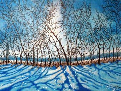 """Peter DuMans, """"Winter Sky,"""" nd"""