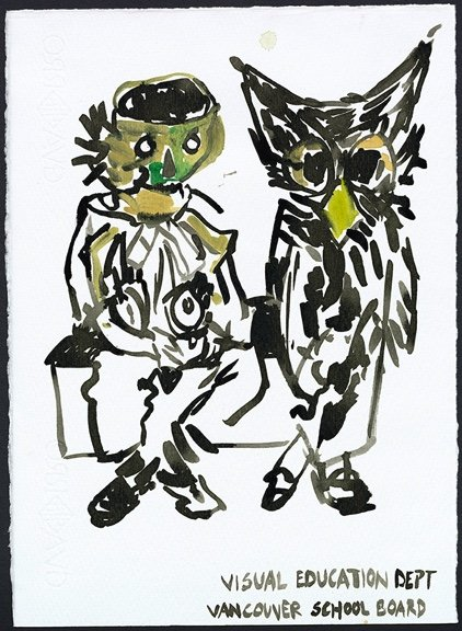 "Cullinan Richards, ""Sketch for Goodbye Charles,"" 2017"