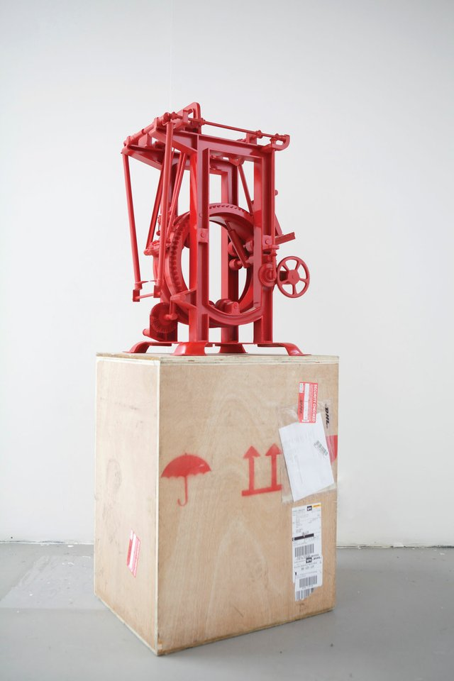 "Tommy Ting, ""Machine"" (Iron Chink, invented in 1903, found at the Gulf of Georgia Cannery in Steveston, B.C., refabricated in Beijing), 2012"