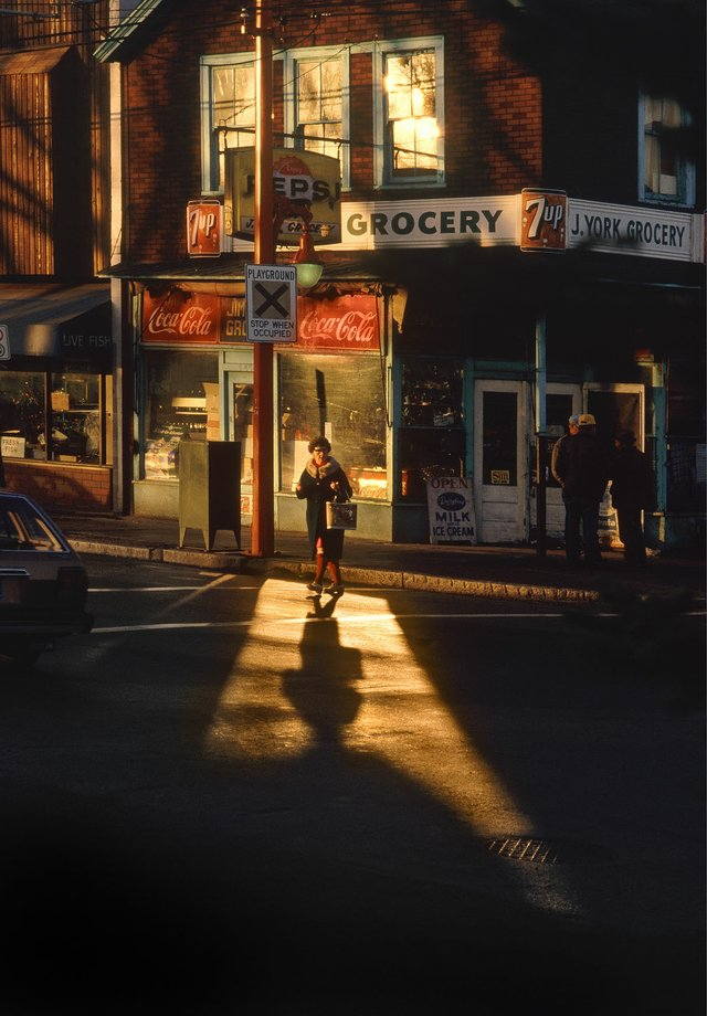 "Fred Herzog, ""Crossing Powell 2,"" 1984"