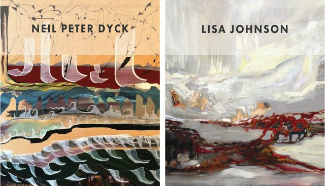 Left: Neil Peter Dyck, Under Rivers (Detail), 2016