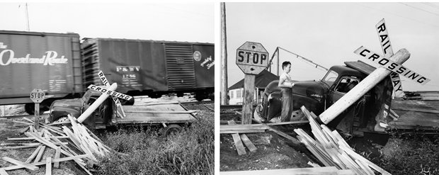 Unknown Photographer (Collision), 1955