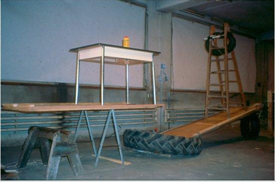 Fischli & Weiss, The Way Things Go (still), 1987