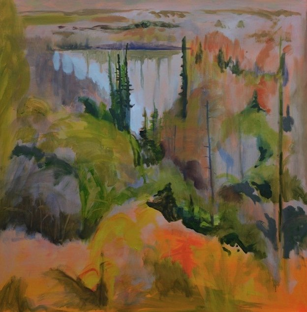 "Lesley Finlayson, ""River Valley Series OC-1-17,"" 2017"
