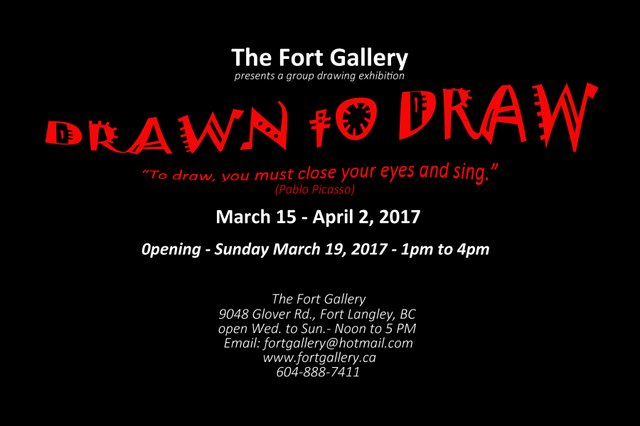 Drawn to Draw Invite