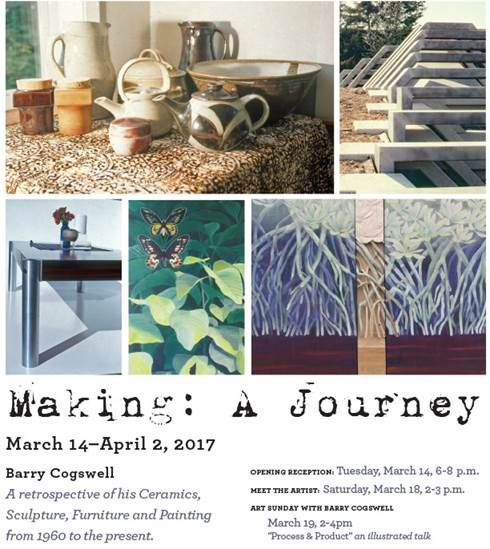 Barry Cogswell, Making: A Journey invitation