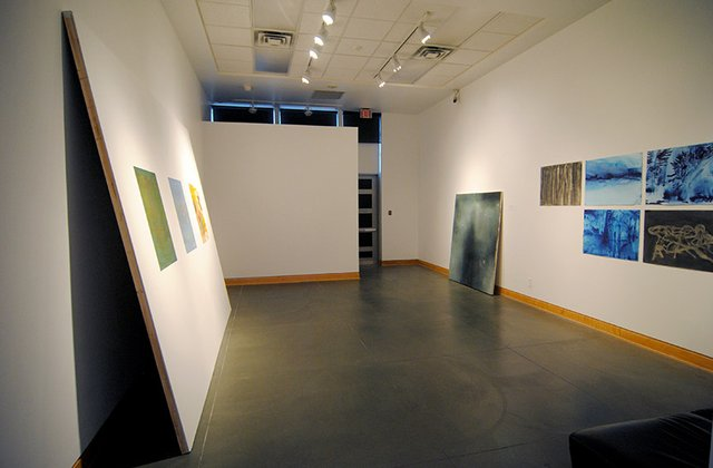 """Connor Charlesworth and Malcolm McCormick, """"Double Vision,"""" installation view"""