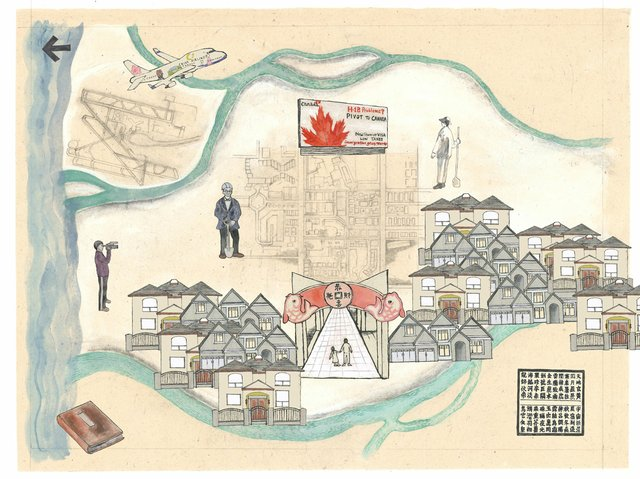"Tomoyo Ihaya, ""Richmond Map,"" 2014"