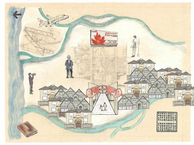 "Tomoyo Ihaya, ""Richmond Map,"" 2014"