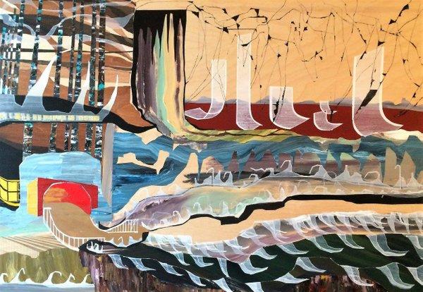 "Neil Peter Dyck, ""Under Rivers,"" 2016"