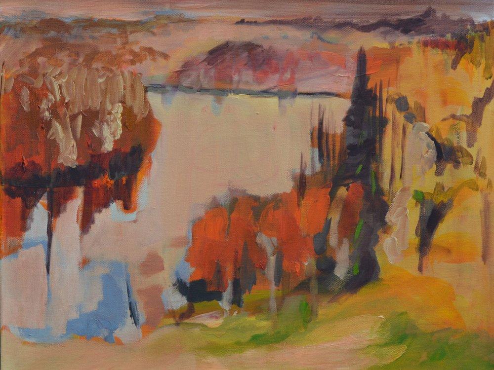 "Lesley Finlayson, ""River Valley Series 12,"" 2017"