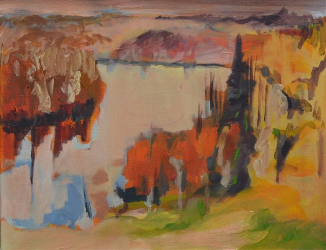"Lesley Finlayson, ""River Valley Series 12,"" 2017"