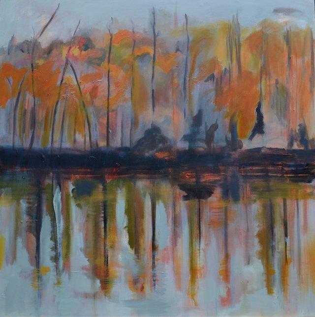 "Lesley Finlayson, ""River Valley Series 4,"" 2017"