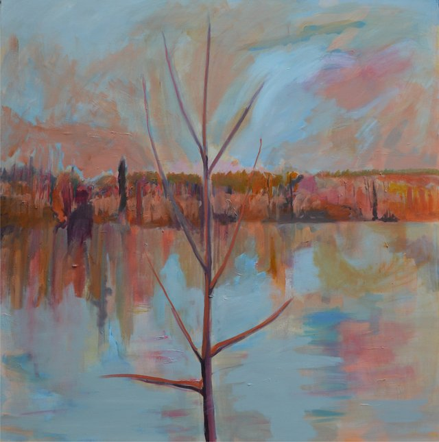 "Lesley Finlayson, ""River Valley Series 5,"" 2017"