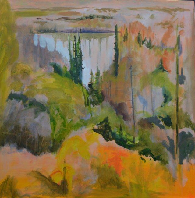 "Lesley Finlayson, ""River Valley Series 1,"" 2017"