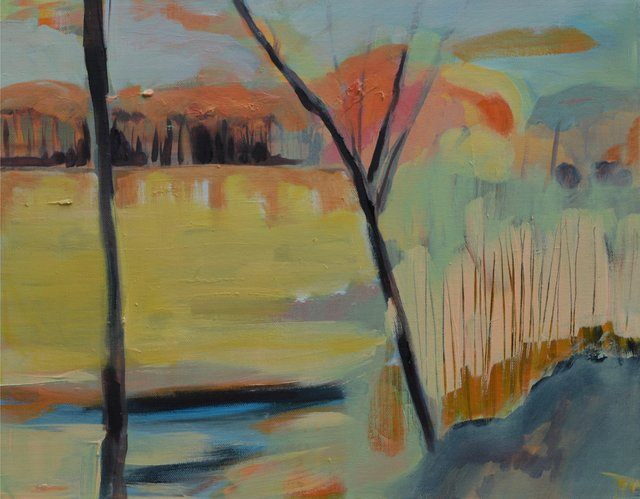 "Lesley Finlayson, ""River Valley Series 11,"" 2017"