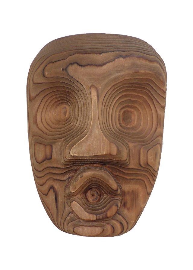 """Ellen Neel, """"Dzonaqua Mask,"""" 1962"""