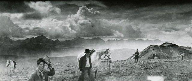 """Bert Riggall, """"[Panoramic view from Lockwood Trip] (detail),"""" ca. 1937"""