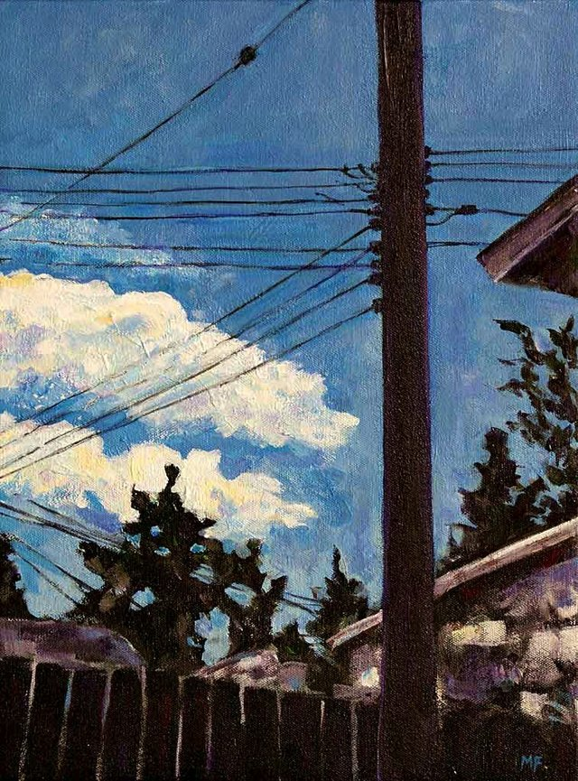 "Melanie Figueroa, ""Overhead Lines,"" nd"