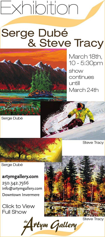 Serge Dubé and Steve Tracy Invitation