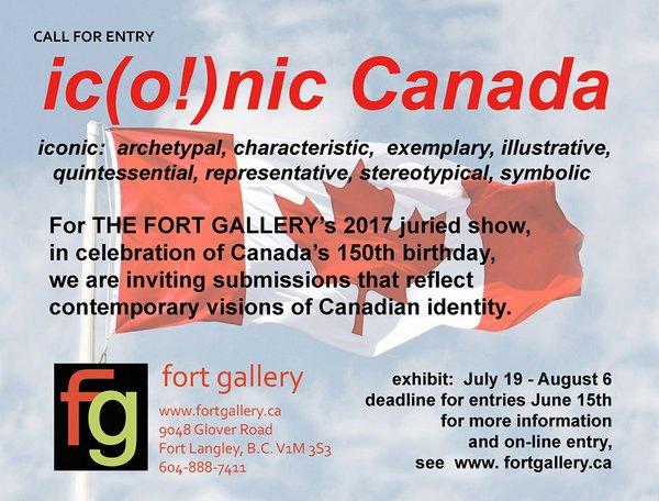 ic(o!)nic Canada Call for Entry Invitation
