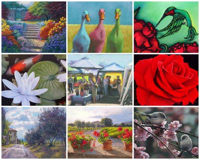 Spring It On! Art Show Invitation