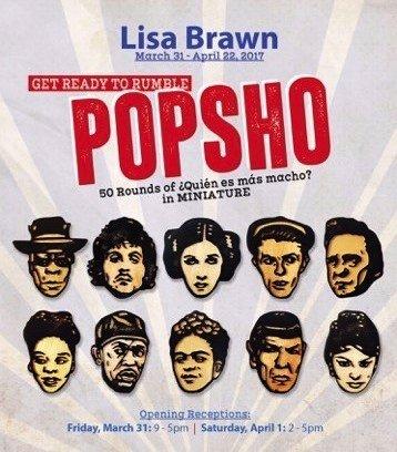 """Lisa Brawn, """"POPSHO,"""" Invitation"""