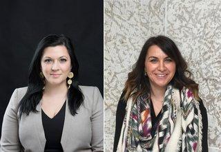 Dr. Heather Igloliorte and Dr. Julie Nagam