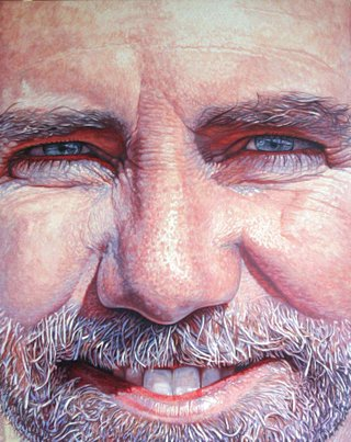 Ward Schell, self portrait