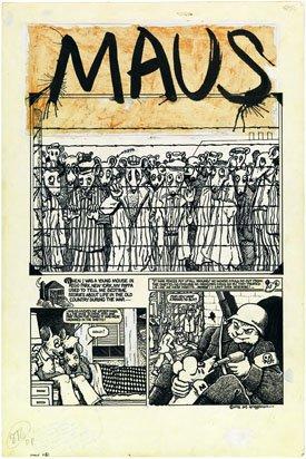 """Maus [page 1, final drawing]"""