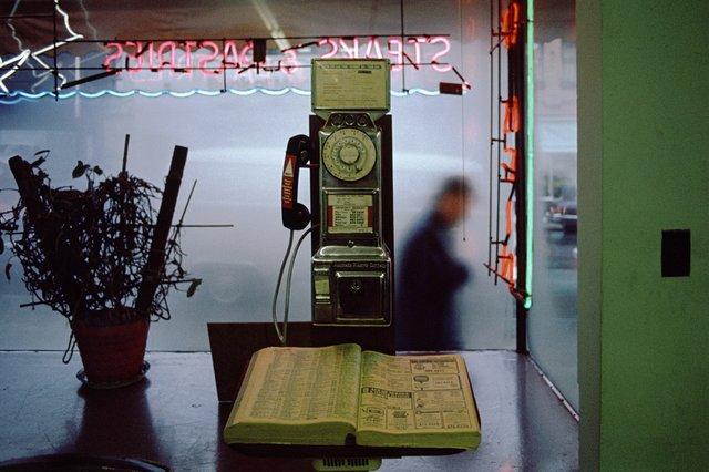 "Greg Girard, ""Hong Kong Café, Chinatown,"" 1978"