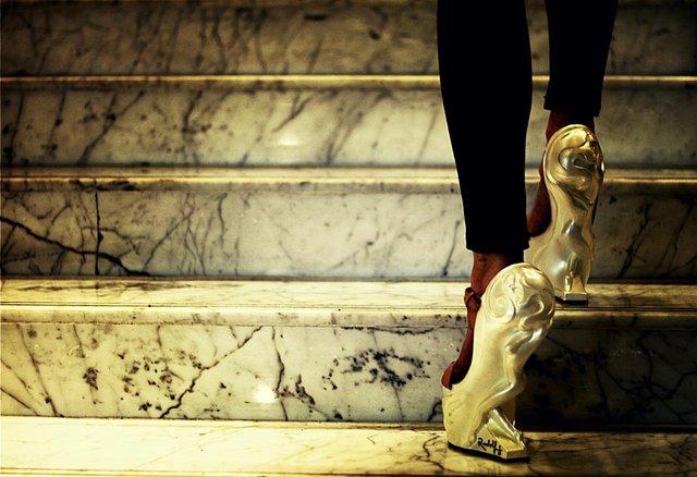 "Rudolf Sokolovski, ""Queen Sculpture High Heels,"" 2016"