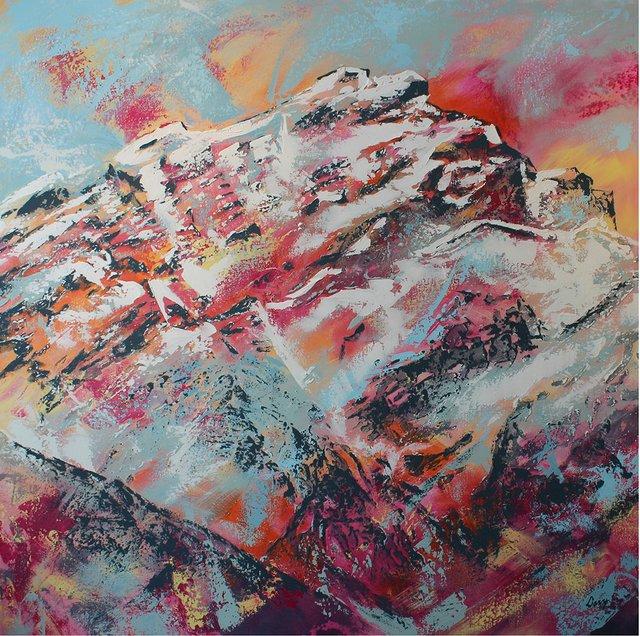 """David Newton, """"Cascade Color,"""" nd"""