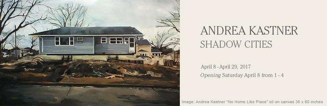Julie Kastne,r Shadow Cities Invitation